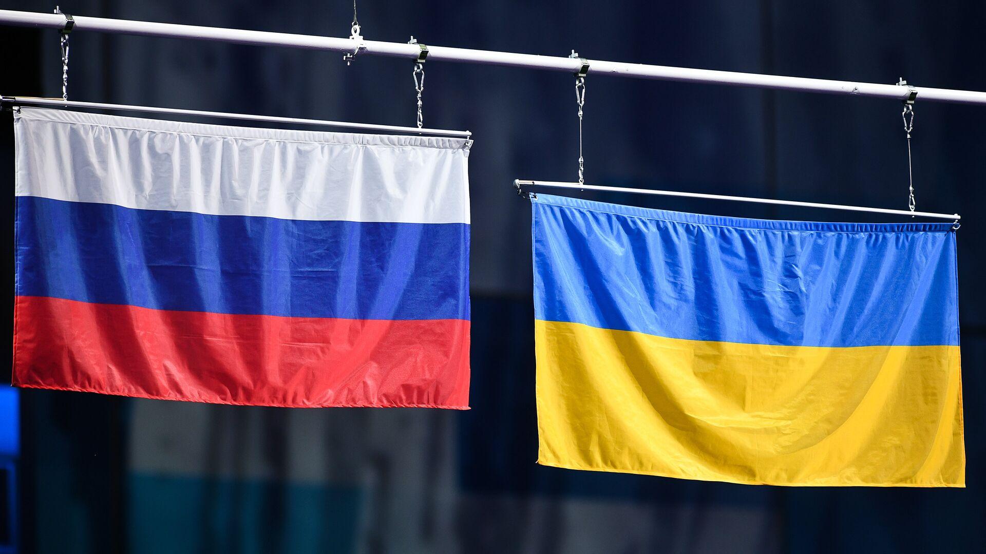 Zastave Rusije i Ukrajine - Sputnik Srbija, 1920, 03.09.2021
