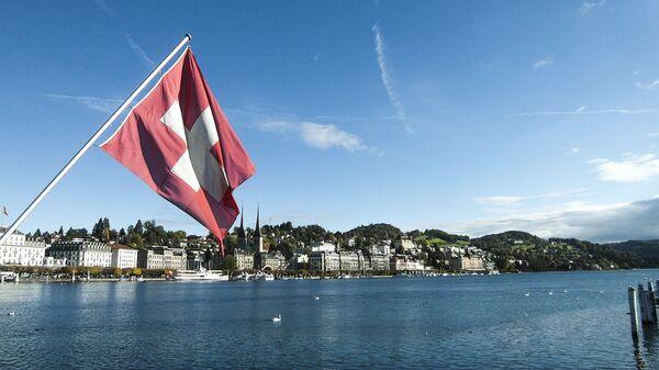 Švajcarska zastava u Lucernu - Sputnik Srbija