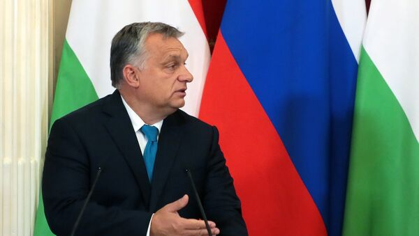 Мађарски премијер Виктор Орбан у посети Русуји - Sputnik Србија