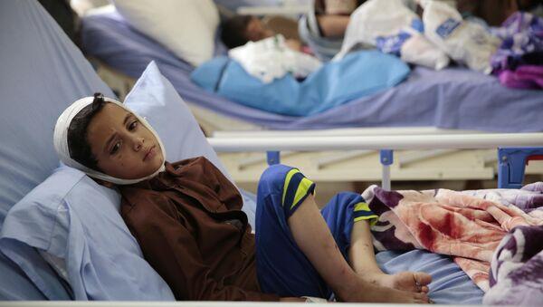 Деца жртве напада на школски аутобус у Јемену - Sputnik Србија