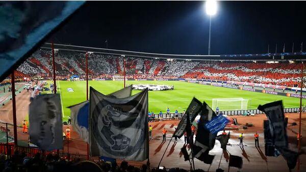 Навијач Наполија снимио и објавио атмосферу са стадиона Црвене Звезде - Sputnik Србија