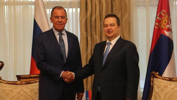 Sergej Lavrov i Ivica Dačić - Sputnik Srbija