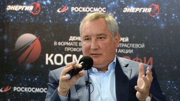 Direktor korporacije Roskosmos Dmitrij Rogozin - Sputnik Srbija