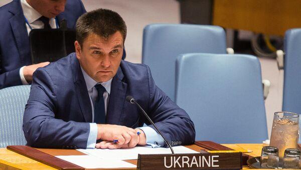 Ministar spoljnih poslova Ukrajine Pavel Klimkin - Sputnik Srbija