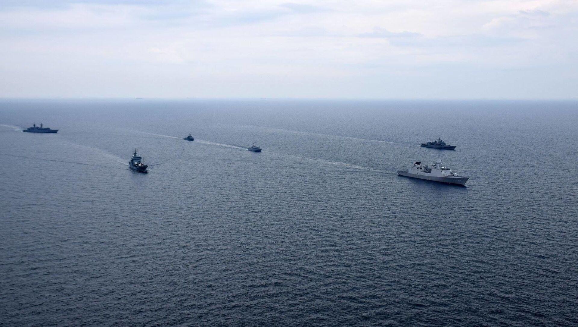 Заједничке вежбе украјинске морнарице и бродова НАТО на Црном мору - Sputnik Србија, 1920, 08.05.2021