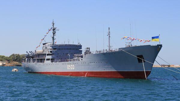 Brod ukrajinske ratne mornarice U500 Donbas - Sputnik Srbija