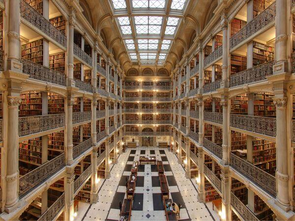 Hramovi znanja: 12 najlepših biblioteka na svetu - Sputnik Srbija