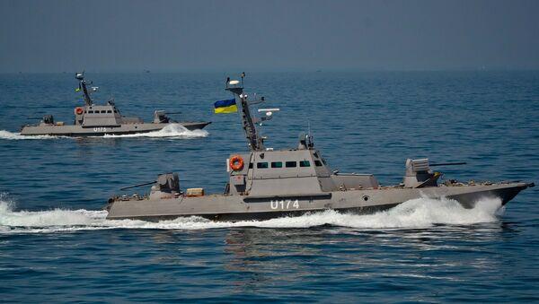 Mali oklopni artiljerijski čamci ukrajinske ratne mornarice - Sputnik Srbija