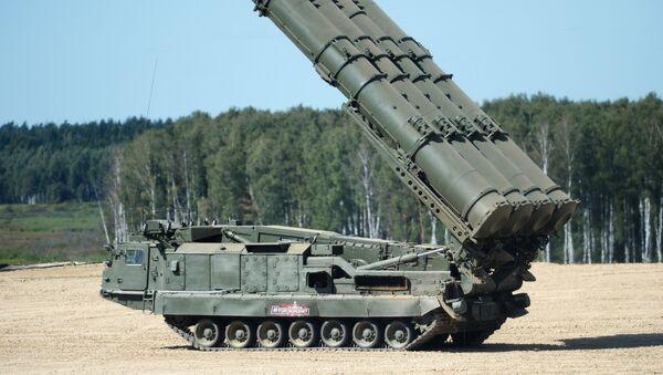 Противракетни системи С-300 Антеј 2500 на Међународном војно-техничком форуму Армија 2018 - Sputnik Србија