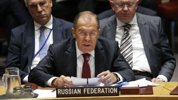 Сергеј Лавров на седници Савета безбедности УН - Sputnik Србија
