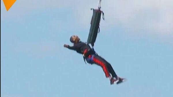 Вил Смит прославио рођендан скоком у Великом Кањону - Sputnik Србија