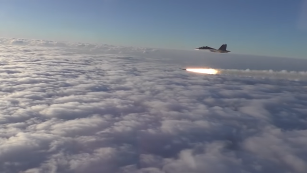 Kad zagrme rakete sa Su-30 (video) - Sputnik Srbija