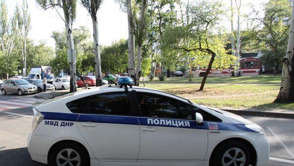 Полиција у Доњецку - Sputnik Србија