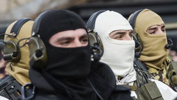 Pripadnici oružanih snaga tzv. Kosova - arhivska fotografija - Sputnik Srbija