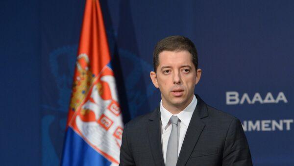 Direktor Kancelarije za KiM Marko Đurić - Sputnik Srbija