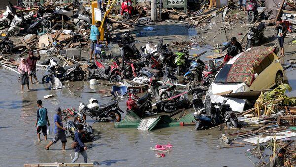 Posledice zemljotresa i cunamija u Indoneziji - Sputnik Srbija