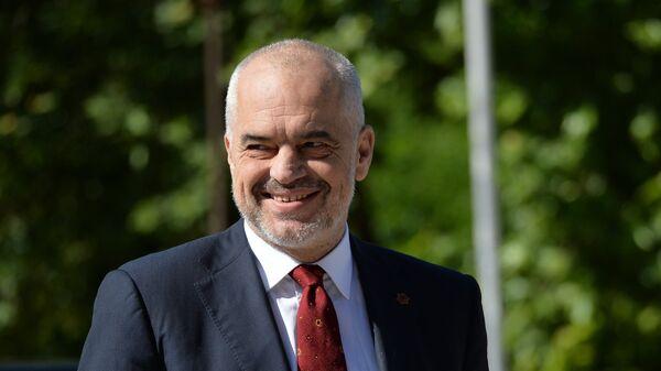 Премијер Албаније Еди Рама  - Sputnik Србија