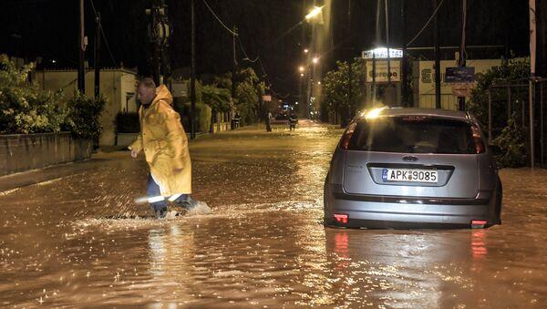 Последице урагана Зорба у Грчкој - Sputnik Србија