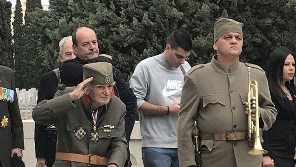 Komemorativni skup na Zejtinliku povodom 100. godišnjice proboja Solunskog fronta - Sputnik Srbija