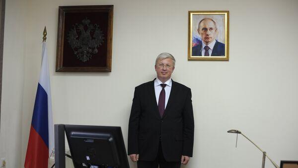 Ambasador Rusije u Makedoniji Sergej Aleksandrovič Bazdnikin - Sputnik Srbija