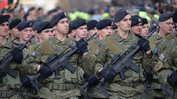 Припадници специјалне јединце тзв. Косова у Приштини - Sputnik Србија