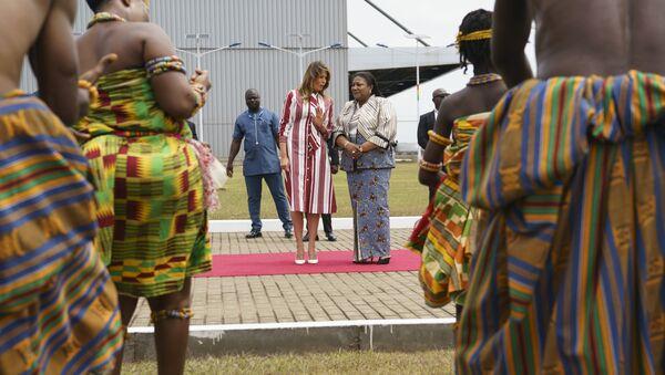 Melanija Tramp u prvoj poseti zemljama Afrike - Sputnik Srbija