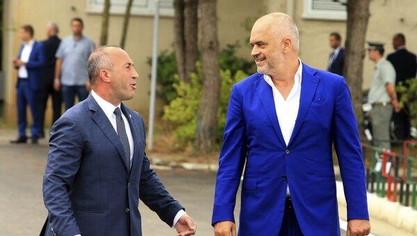 Ramuš Haradinaj i Edi Rama - Sputnik Srbija