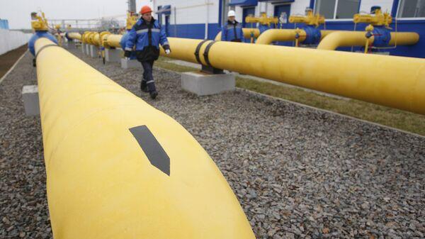 Gaspromova stanica za distribuciju gasa - Sputnik Srbija