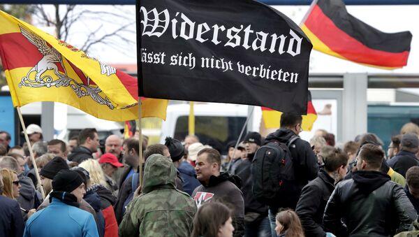 Демонстрације у Берлину поводом уједињења Немачке - Sputnik Србија
