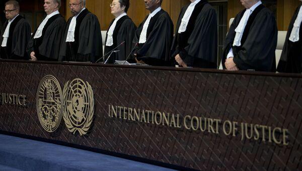 Sudije u Međunarodnom sudu pravde u Hagu - Sputnik Srbija