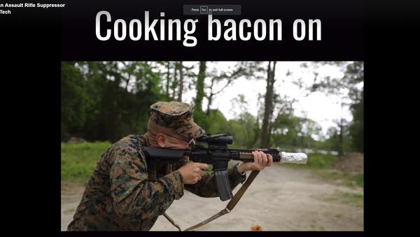 Kako ispeći slaninu u šumi - Sputnik Srbija