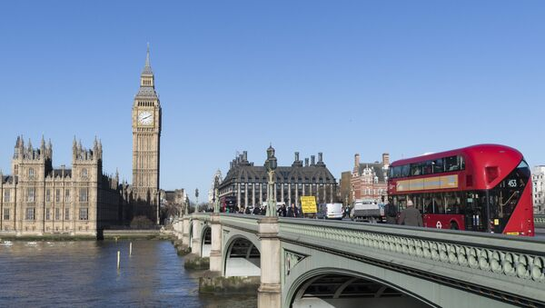 Vestminsterski most preko Temze u Londonu - Sputnik Srbija
