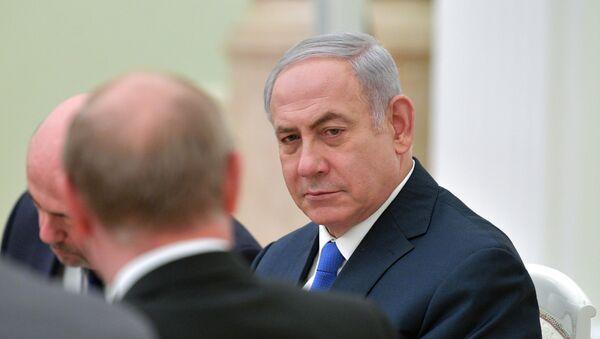 Premijer Izraela Benjamin Netanijahu na sastanku sa predsednikom Rusije Vladimirom Putinom u Moskvi - Sputnik Srbija