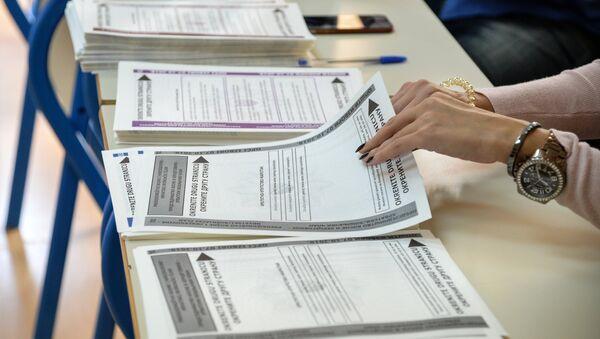 Гласачки листићи на општим изборима у БиХ - Sputnik Србија