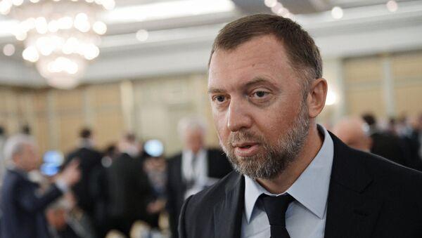 Ruski biznismen Oleg Deripaska - Sputnik Srbija