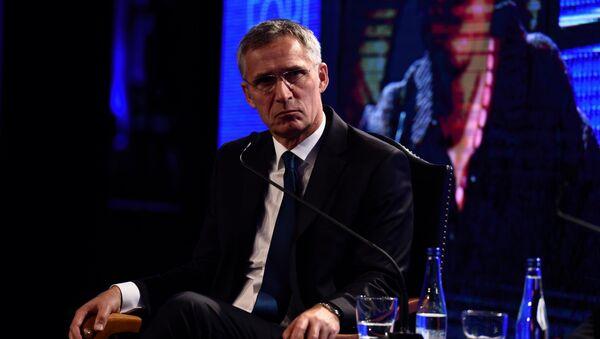 Generalni sekretar NATO Jens Stoltenberg u Beogradu. - Sputnik Srbija