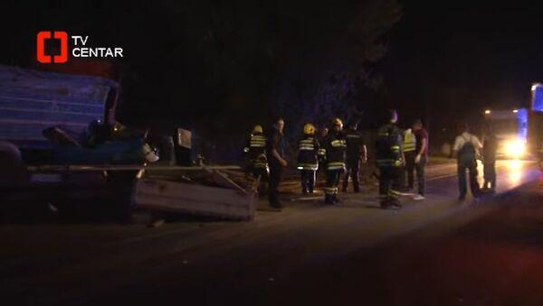Nesreća kod  Svilajnca - Sputnik Srbija