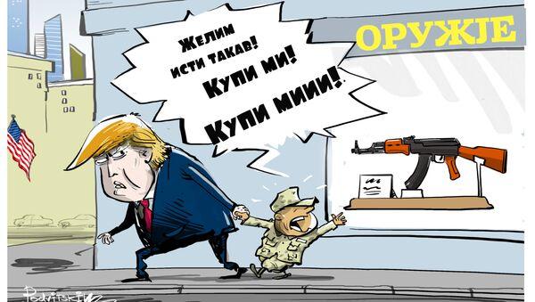 SAD žele da proizvode Kalašnikov - Sputnik Srbija