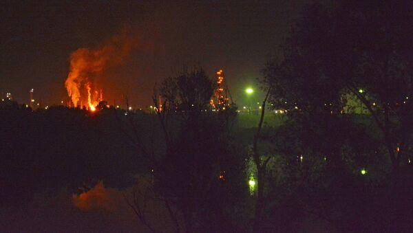 Eksplozija rafinerije u Brodu - Sputnik Srbija