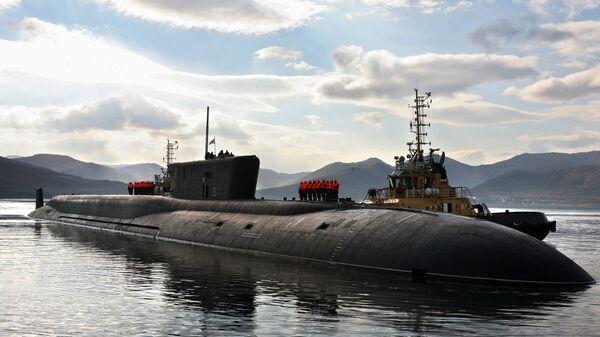 Руска нуклеарна подморница класе Бореј Владимир Мономах - Sputnik Србија