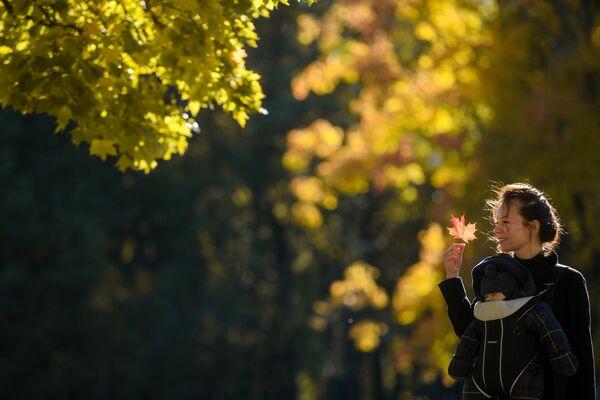 Jesenje radosti u parku Caricino u Moskvi - Sputnik Srbija