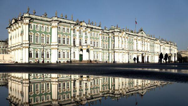 Зграда музеја Ермитаж у Санкт Петербургу - Sputnik Србија