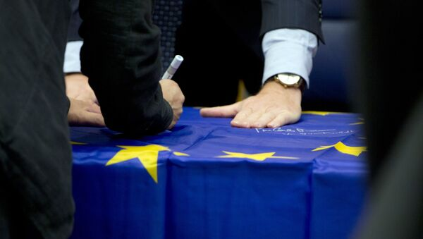Zastava EU - Sputnik Srbija