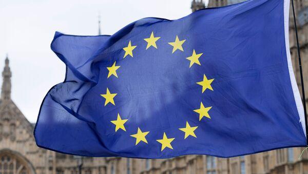 Застава Европске уније на улици у Лондону - Sputnik Србија