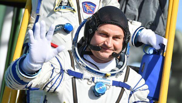 Član posade MSS 57/58 kosmonaut Roskosmosa Aleksej Ovčinjin - Sputnik Srbija