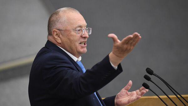 Lider Liberalno-demokratske partije Rusije Vladimir Žirinovski - Sputnik Srbija