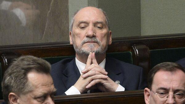 Бивши министар одбране Пољске Антони Мачеревич - Sputnik Србија