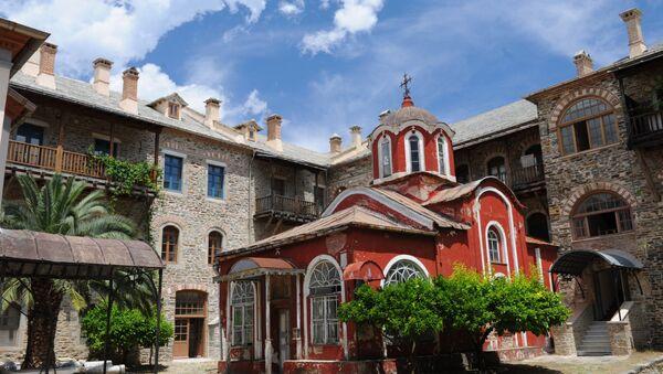 Иверски манастир на Светој гори - Sputnik Србија