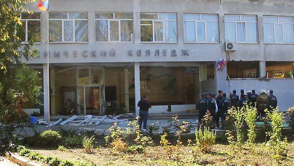 Politehnička škola u Kerču nakon eksplozije - Sputnik Srbija