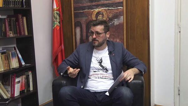 Срђан Ного - Sputnik Србија